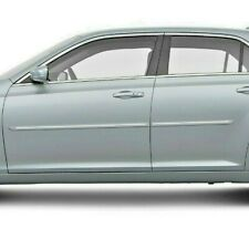 For Chrysler 300 05 10 Painted Body Side Moldings With Chrome Inserts Cf 300 Fits Chrysler 300