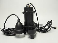 MWL-6500i Continous Duty Cast Iron Sump Pump w Digital Ion switch