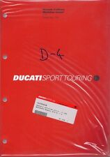 2001 Ducati ST2 91470181H factory workshop manual BRAND NEW - English/Italian