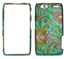 Teal paisley  for Motorola Droid Razr MAXX XT913 XT916  XT912M  case cover