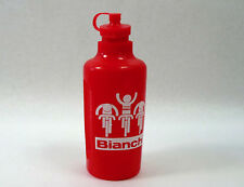 Bianchi Water Bottle Mariplast Red W Grips bidon Vintage Road Racing Bike NOS