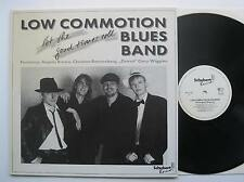 LP Low Commotion Blues Band - Let The Good Times Roll - mint- Angela Brown