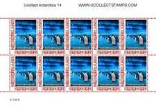 Nederland 2012 Ucollect Antarctica 14  pinguins vel-sheetlet postfris/mnh