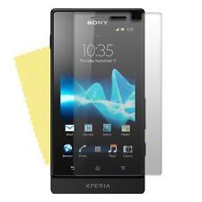 Sony Xperia Sola MT27i  - 1x film de protection écran semi rigide + chiffon doux