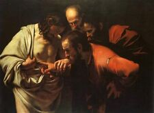 "Caravaggio The Doubting of St. Thomas Painting repro 30""x40"""