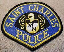 CHARLES MINNESOTA POLICE SHOULDER PATCH ST