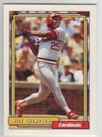 1992 Topps Baseball Saint Louis Cardinals Team Set