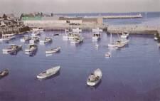 Vintage Postcard c1950-60s Bird's Eye View of Harbor Rockport, Ma 17364