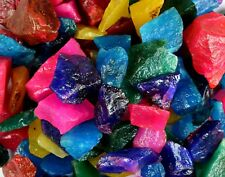 Ruby, Sapphire, Emerald & Aquamarine Gemstone Rough Lot Natural New Year's Offer