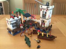 LEGO Pirates Soldiers' Fort (6242) - no box/instructions, 98% complete