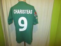 """Werder Bremen Kappa Heim Trikot 2001/02 """"ohne Sponsor"""" + Nr.9 Charisteas Gr.M"""