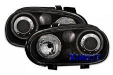 Phares feux arrière de STYLE R32 noir VW GOLF IV GTI 4 lenticulaires fond noir c