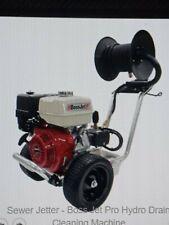 BossJet PRO Sewer Jetter GX390 HONDA  4000psi / 4gpm