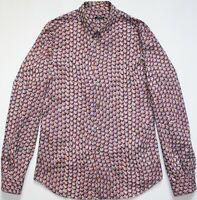 "Miu Miu by Prada Vintage Floral Long Sleeve Shirt - 16"" / 41"" Medium Slim - Mens"
