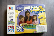 WINNIE THE POOH HIDE AND SEEK BOARD GAME AGE 3+ BRAND NEW DISNEY MB GAMES