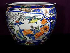 ancien bassin à poisson asiatique décor cloisonné fin XIXéme