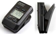 SEIKO DM51 B Clip-on Pocket-Sized Digital Metronome Compact