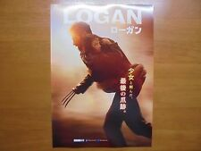 Hugh Jackman Logan MOVIE FLYER mini poster chirashi Japan 29-3-1