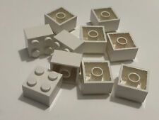 *NEW* 10 Pieces Lego BRICKS 2x2 WHITE 3003