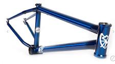 "S&M 24 INCH ATF FRAME TRANS BLUE CRUISER 24"" 21.75 BMX BIKE BIKES big SE 21.75"""