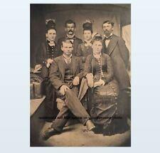 Doc Holliday Wyatt Earp Group PHOTO Big Nose Kate Wild West US Marshal Sheriff