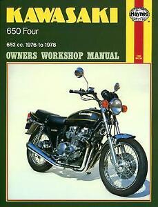 Kawasaki 650 Four (76 - 78) EAN 9780856963735 Boek Haynes Publishing Group Hayne
