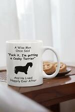Cesky Terrier Mug - Cesky Terrier Gift - Novelty Gift For Dog Dad - Funny Mug