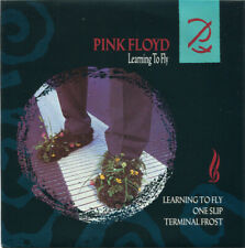 "Pink Floyd ‎– Learning To Fly. 7"" Picture Sleeve, Pink Vinyl. Mint"