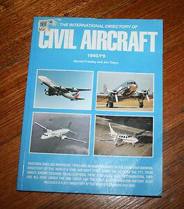 The International Directory Of Civil Aircraft 1995/96 Gerard Frawley Jim Thorn