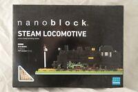 Nanoblock Steam Locomotive New in Box