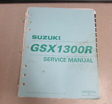 1999 Suzuki GSX1300R Service Repair ATV Motorcycle Manual 99500-39182-03E