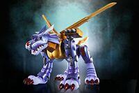 New D-Arts Digimon Adventure Metal Garurumon Figure Tamashii Web Bandai Japan