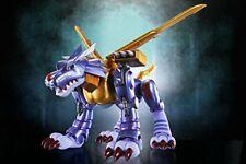 Nuevo D-arts Digimon Adventure Metal Garurumon figura Tamashii Web Bandai Japón