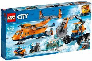 LEGO - CITY - 60196 - L'AVION DE RAVITAILLEMENT ARCTIQUE