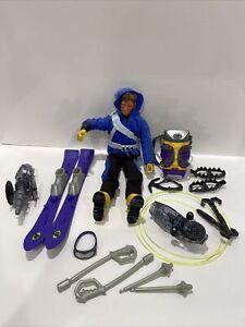 2000 Max Steel Arctic Commando And Arctic Commando Battle Gear Ski Accessories