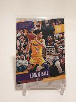 2017-18 Panini Prestige Lonzo Ball Base Rookie #152 Rc Lakers Pelicans