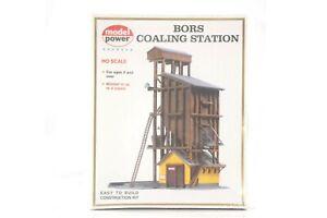 HO Model Power Building Kit #410: Steam Locomotive Wooden Coaling Tower EZ Build