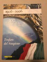 FOLDER 2006   TRAFORO DEL SEMPIONE   RARO