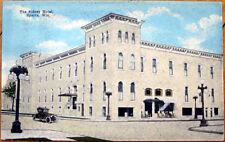 1915 Postcard: Sidney Hotel - Sparta, Wisconsin WI