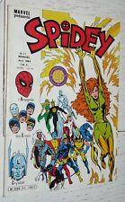 PETIT FORMAT MARVEL LUG EO SPIDEY N°51 1984 SUPER-HEROS X-MEN CRYSTAR PHENIX
