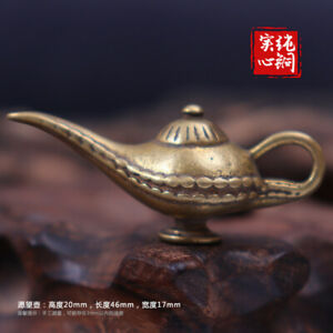 One Thousand and One Nights Aladdin's Magic Lamp Keychain, Wishing Lucky Charm