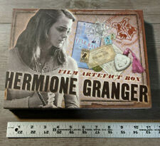Harry Potter Hermione Granger Film Artefact Box Prop Set w/Xmas Yule Ball Poster