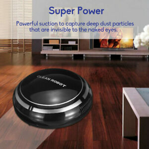 Rechargeable Automatic Smart Robot Vacuum Cleaner Suction Sweeper Edge Cleaning