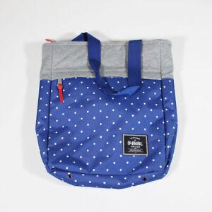 New/Unused 2014 Herschel Supply Co. x Stussy Int. Harvest Polka Dot Tote - Blue