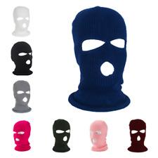 3 Hole Full Face Mask Ski Mask Winter Cap Balaclava Hood Beanie Tactical Hat