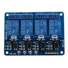 5V 4-Canal Modulo rele Shield for Arduino ARM PIC AVR DSP Electronic Y3B3