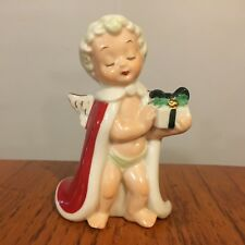 Vtg Antique Jewelry Hatpin Display Christmas Angel Figure by Jeweler Industries