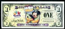 DISNEY DOLLARS, 2009 T, UNCIRCULATED, THE 20TH YEAR, MICKEY AND PLUTO