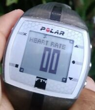 Polar Watch Ft4 Fitness Heart Rate Monitor 30M Gray Black Rubber Band Unisex