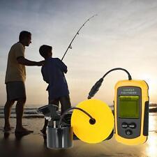 Fish Finder Sonar Sensor Alarm Transducer-Best Outdoor Anglers Reel New Y4F9